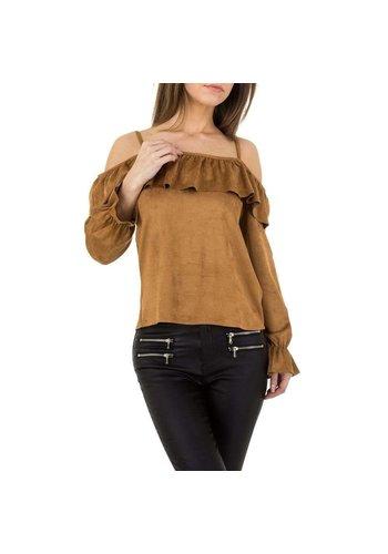 JCL Damen Bluse von JCL - camel