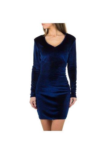 JCL Damen Kleid von JCL - blau