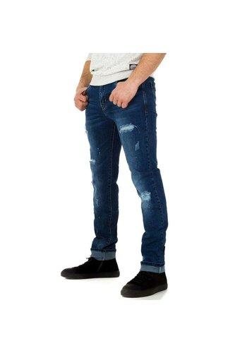 D5 Avenue Herren Jeans von Edo Jeans - blue