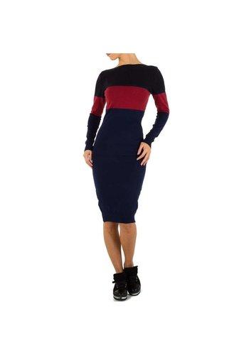 D5 Avenue Damenbekleidung von Emmash Gr. Einheitsgröße - Marineblau mit Rot