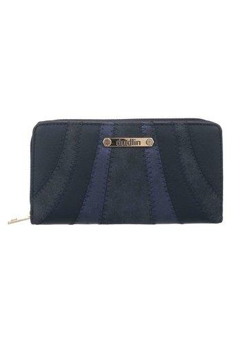 D5 Avenue Damenbrieftasche-Blau