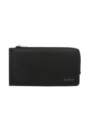 D5 Avenue Damenbrieftasche-schwarz