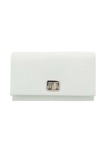 D5 Avenue Damen Clutch-white