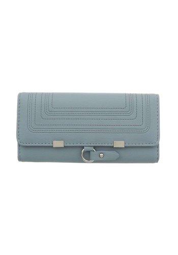 D5 Avenue Damen Geldbörse-blaues Grau