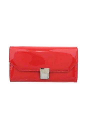 D5 Avenue Damen Geldbörse rot lackiert