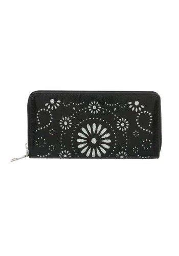 D5 Avenue Damen Geldbörse schwarz lackiert