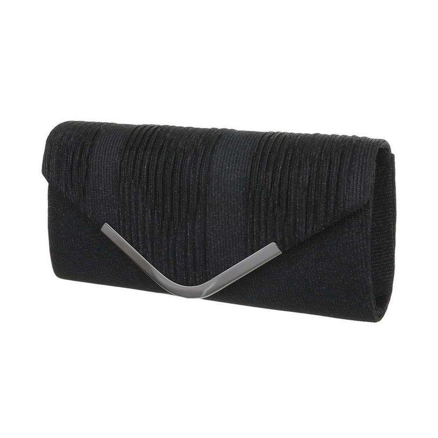 Damen Abendtasche schwarz