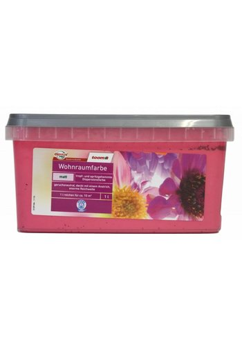 Genius Pro Wandfarbe - matt - sweet pink - 1 liter