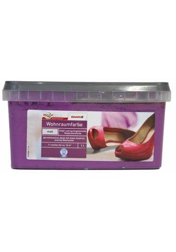Genius Pro Wandfarbe - matt - lila - 1 liter