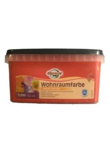 Genius Pro Wandfarbe - seidenglänzend - spicy - 1 liter