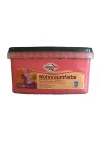 Genius Pro Wandfarbe - seidenglänzend - sweet pink - 1 liter
