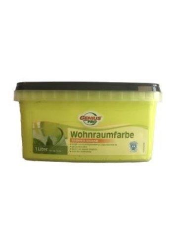Genius Pro Wandfarbe - seidenglänzend - lemongrass - 1 liter