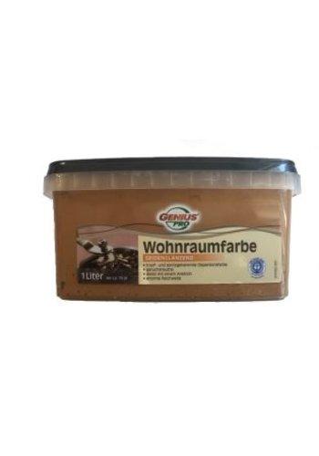 Genius Pro Wandfarbe - seidenglänzend - cappuccino - 1 liter