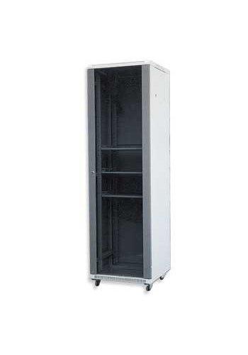 Gembird 19' standard rack metal cabinet 42U 600X800MM, unassembled, 2nd part of 3 (side panels, glass door)