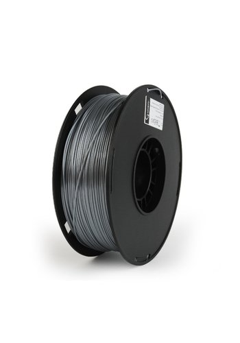Gembird3 PLA-PLUS filament, silver, 1.75 mm, 1 kg