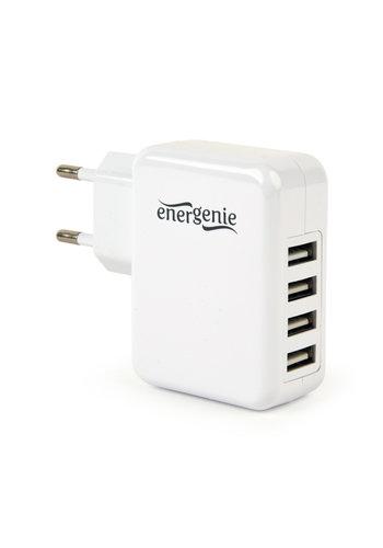 EnerGenie Universal USB-Ladegerät, 3,1 A, weiß