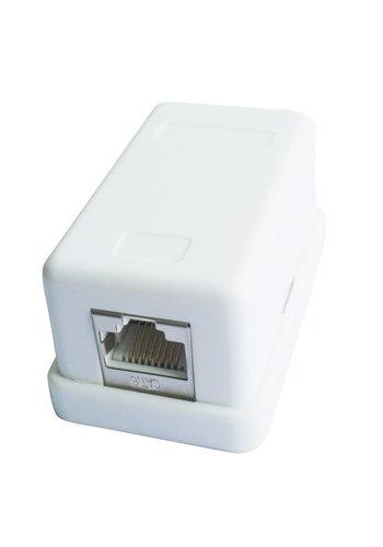 CableXpert Abgeschirmte CAT6 Aufputz-Dose mit 1 Anschluss