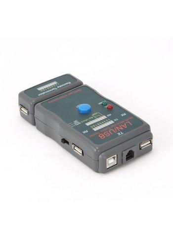 CableXpert NCT-2 Kabeltester für UTP, STP und USB-Kabel