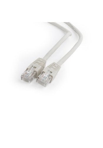 CableXpert UTP Cat6 Patch cord, gray, 15 m