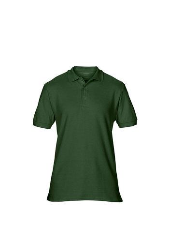 Gildan Polo Kurzarm grün
