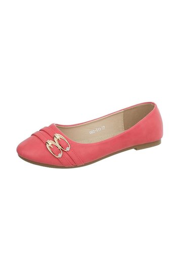 D5 Avenue Damen Ballerinas - red