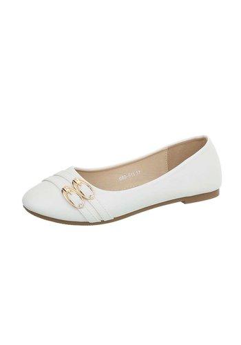 D5 Avenue Damen Ballerinas - white