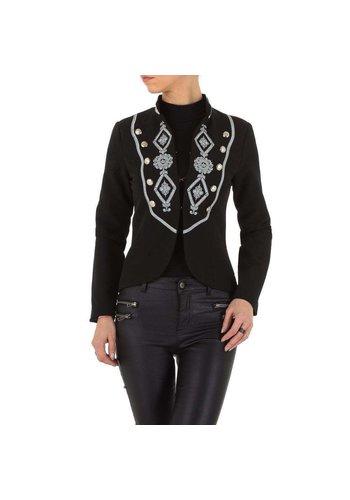 D5 Avenue Damen Jacke - black
