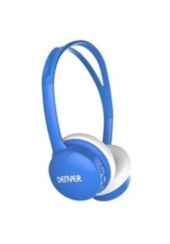 Denver Kinderkopfhörer mit Lautstärkebegrenzung blau