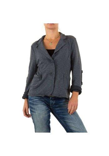 D5 Avenue Damen Jacke von Carla Giannini Gr. one size - DK.grey