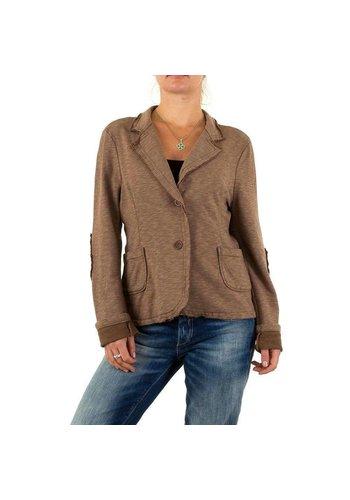 D5 Avenue Damen Jacke von Carla Giannini Gr. one size - brown