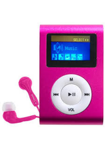 Denver Difrnce MP855 - MP3-Player - 4 GB - Rosa