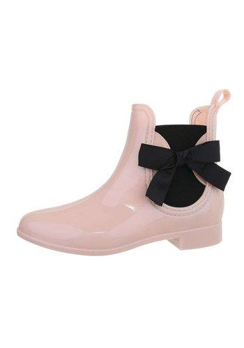 D5 Avenue Damen Gummistiefeletten - pink