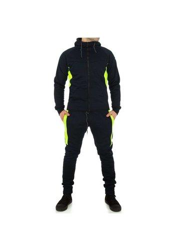 D5 Avenue Trainingsanzug für Herren von Fashion Sport - D.blau