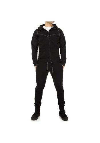 D5 Avenue Trainingsanzug für Herren von Fashion Sport - schwarz