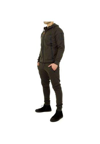 D5 Avenue Trainingsanzug für Herren von Fashion Sport - grün