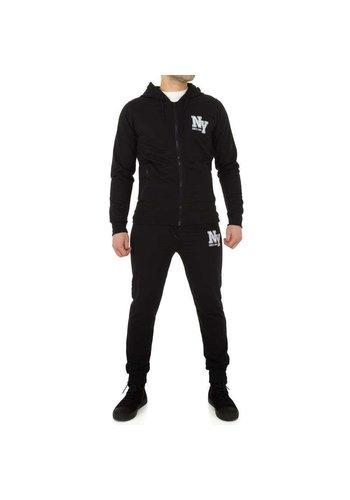 D5 Avenue Trainingsanzug für Herren von M & 2 Collection - schwarz