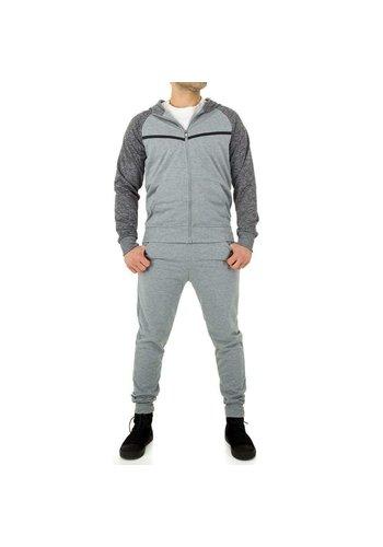 D5 Avenue Trainingsanzug für Herren von M & 2 Collection - grau