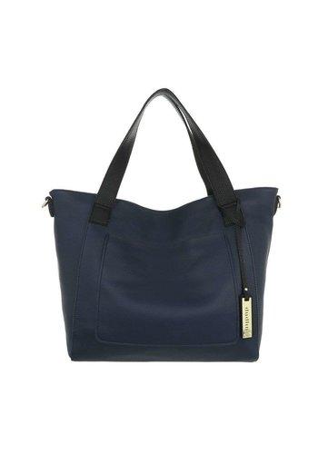 D5 Avenue Damen Shopper blau