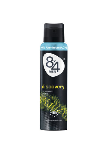 8x4 Deospray 150ml Discovery for men