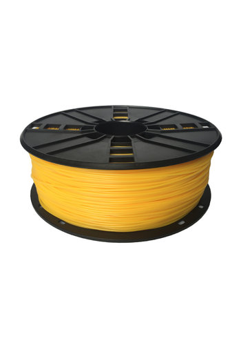 Gembird3 TPE flexible filament Yellow, 1.75 mm, 1 kg