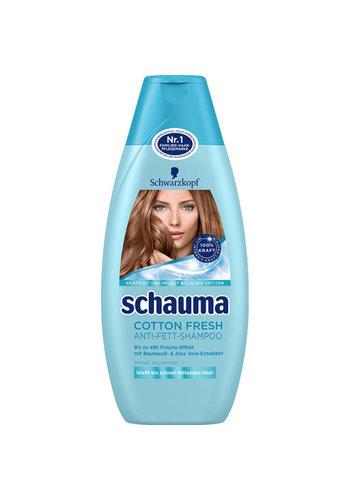 Schauma Shampoo 400ml Cotton Fresh
