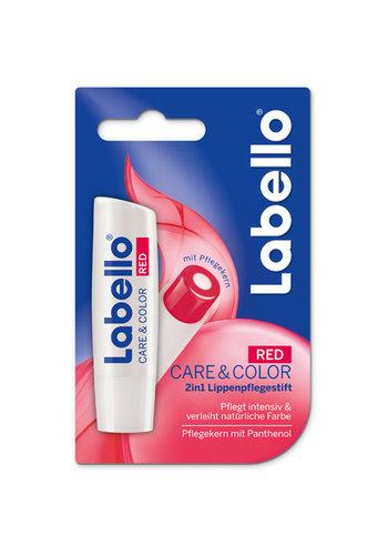 Labello Labello Lippenpflege Care&Color Red 5,5ml