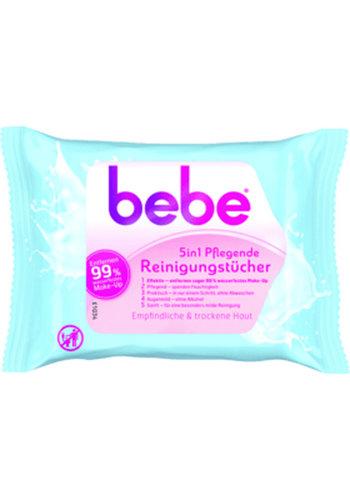Bebe Pflegende Reinigungstücher 5in1 25er