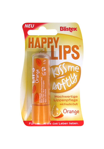 Blistex Lippenbalsam Happy Lips 3,7g Orange