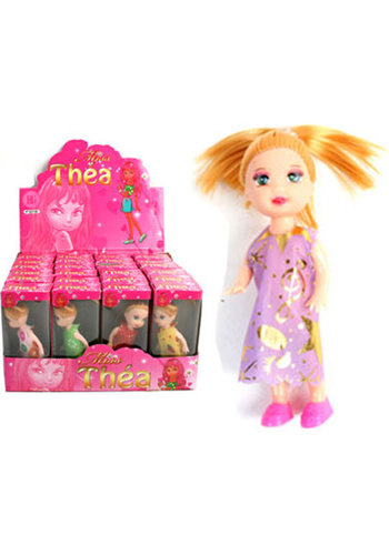 Puppe 10cm 2fach sortiert in Box , im Display