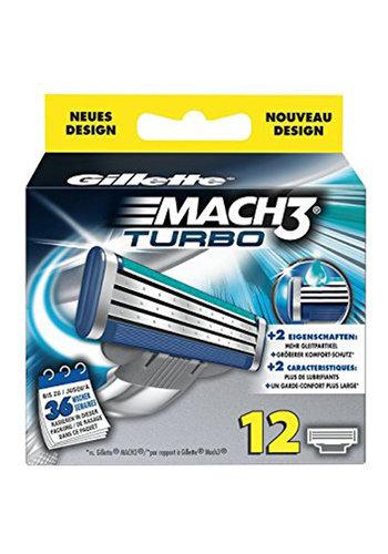 Gillette Gillette Mach3 Turbo 12er Klingen