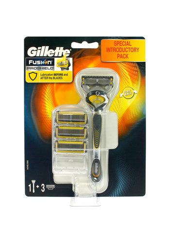 Gillette Gillette ProShield 4er Klingen + Rasierer