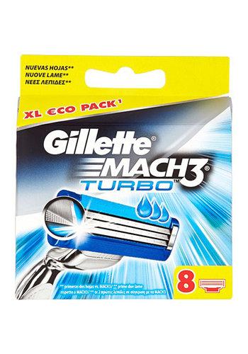 Gillette Gillette Mach3 Turbo 8er Klingen