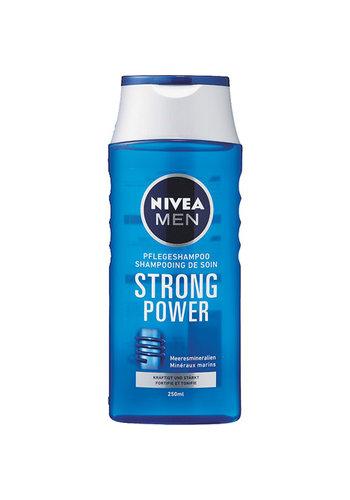 Nivea Nivea Shampoo 250ml For Men Strong Power