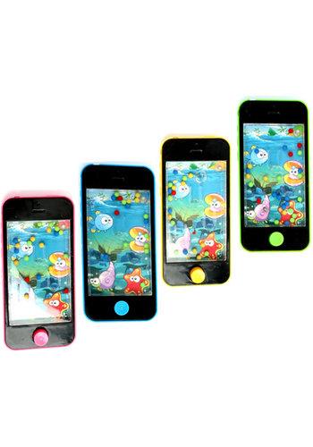 D5 Avenue Wasserspiel Smartphone 12x5,5cm 4 Farben sort.